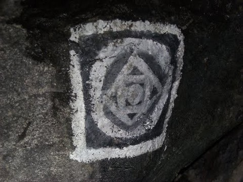 Nemora Castelli Romani pentima della vecchiaccia simboli satanismo rituali